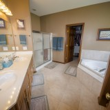 Master bathroom for home on Chapel Drive, Springboro.