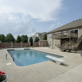 Swimming pool for home on Chapel Drive, Springboro.