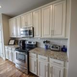 Custom kitchen by Design Homes.
