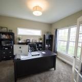 Custom study by Design Homes.