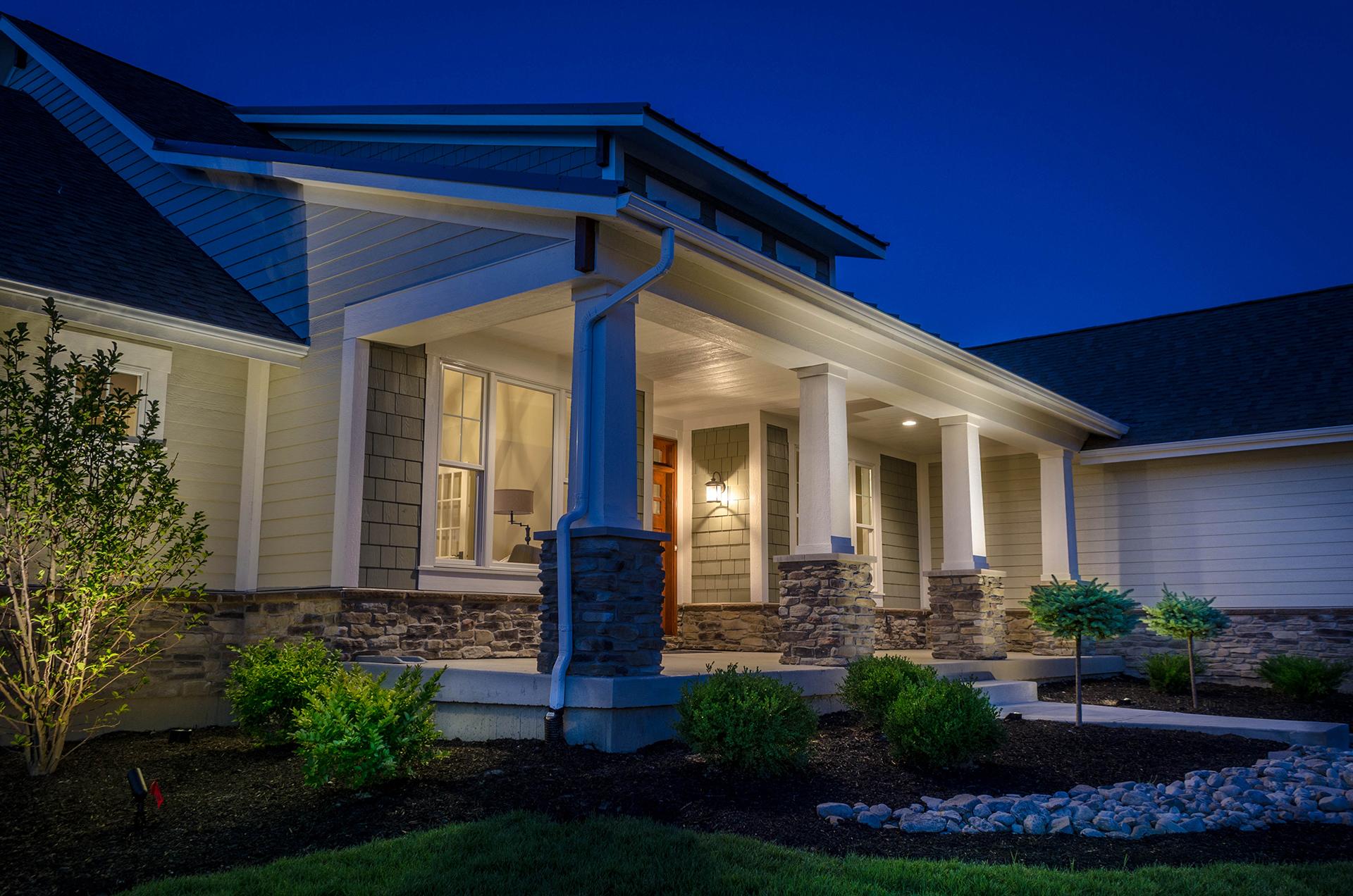 Lighting for your custom home design homes for Colorado custom home designs