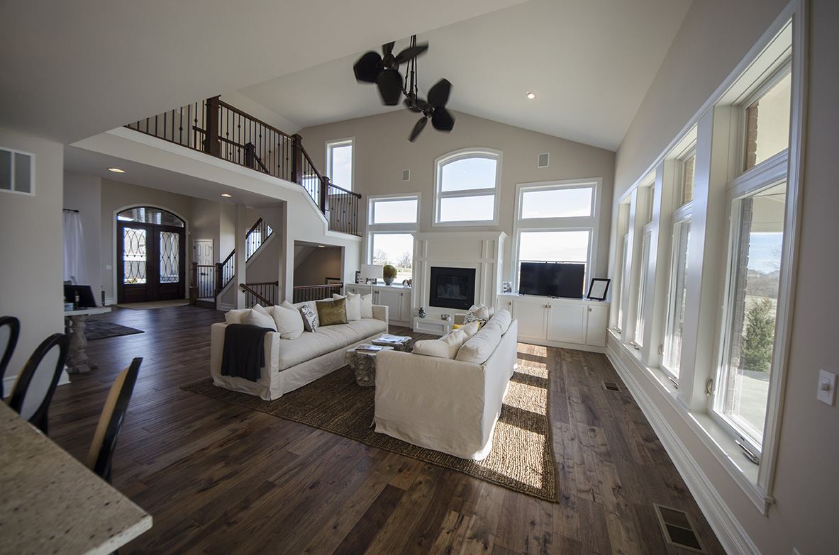 Great rooms design homes for Design homes com