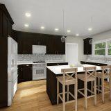 Custom interior rendering of The Lexington. By Design Homes & Development.