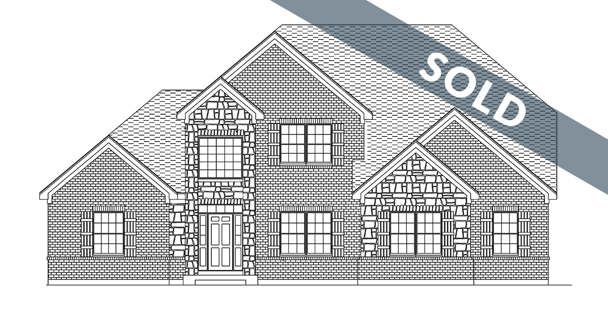 Custom home in Cypress Ridge by Design Homes and Development.