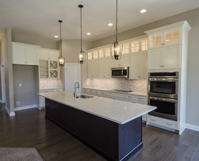 Custom kitchen by Design Homes and Development. Decorating blog post.
