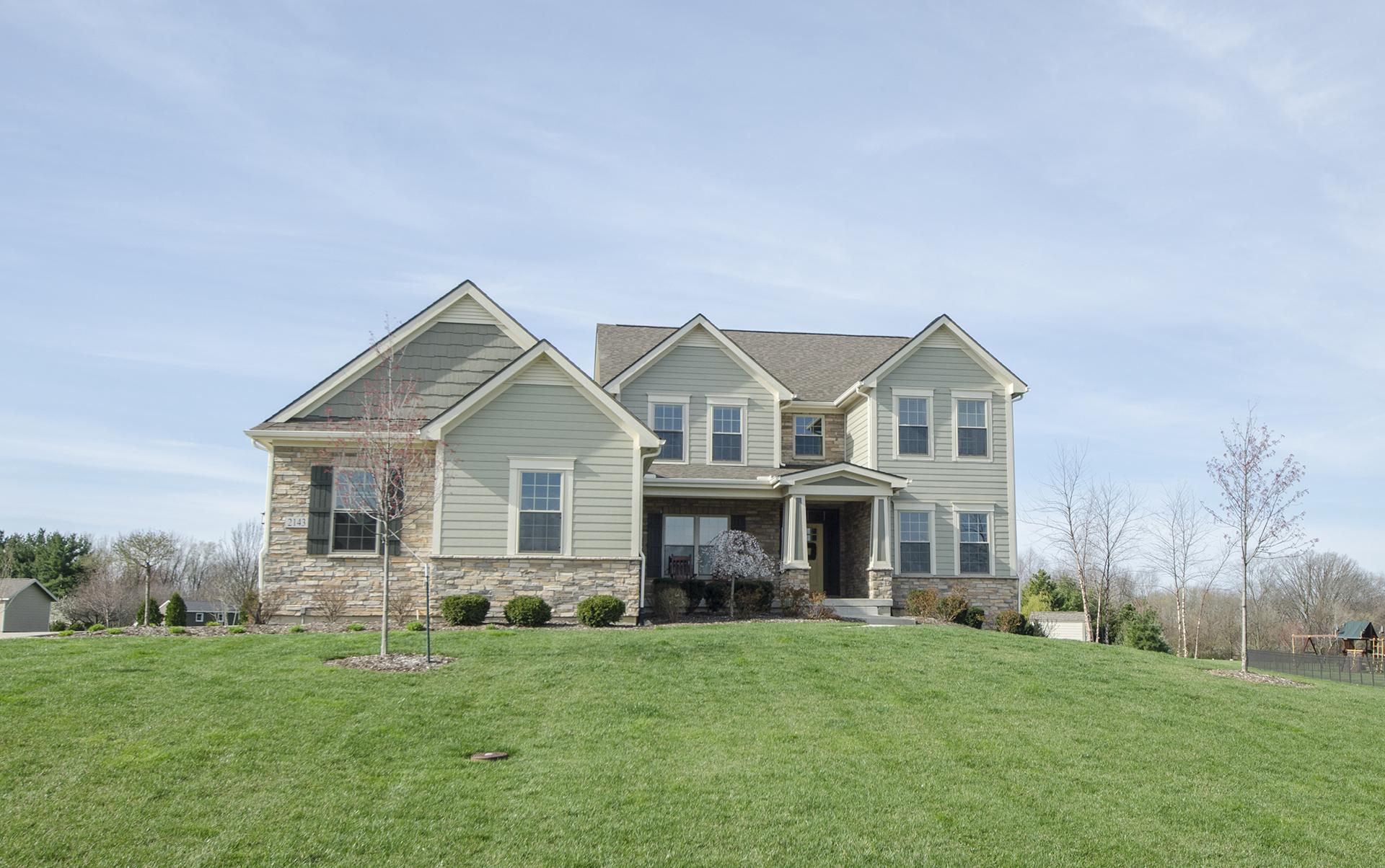Home exteriors design homes for Custom home exterior design