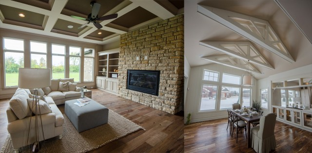 A must have feature, ceiling types, by Design Homes.