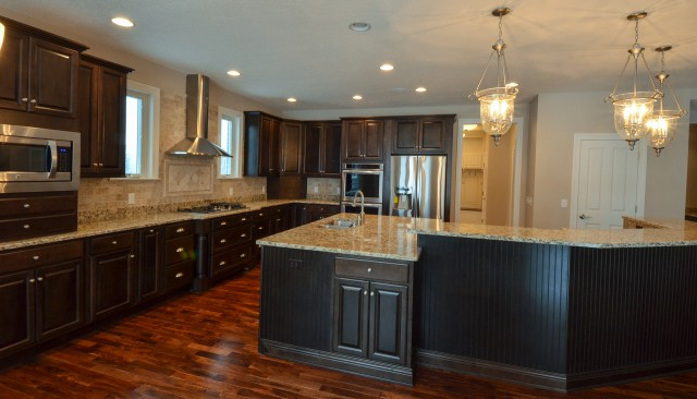 A must have feature, large kitchen, by Design Homes.