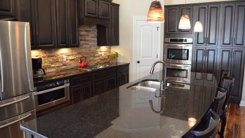 Kelley's kitchen in Soraya Farms by Design Homes and Development.