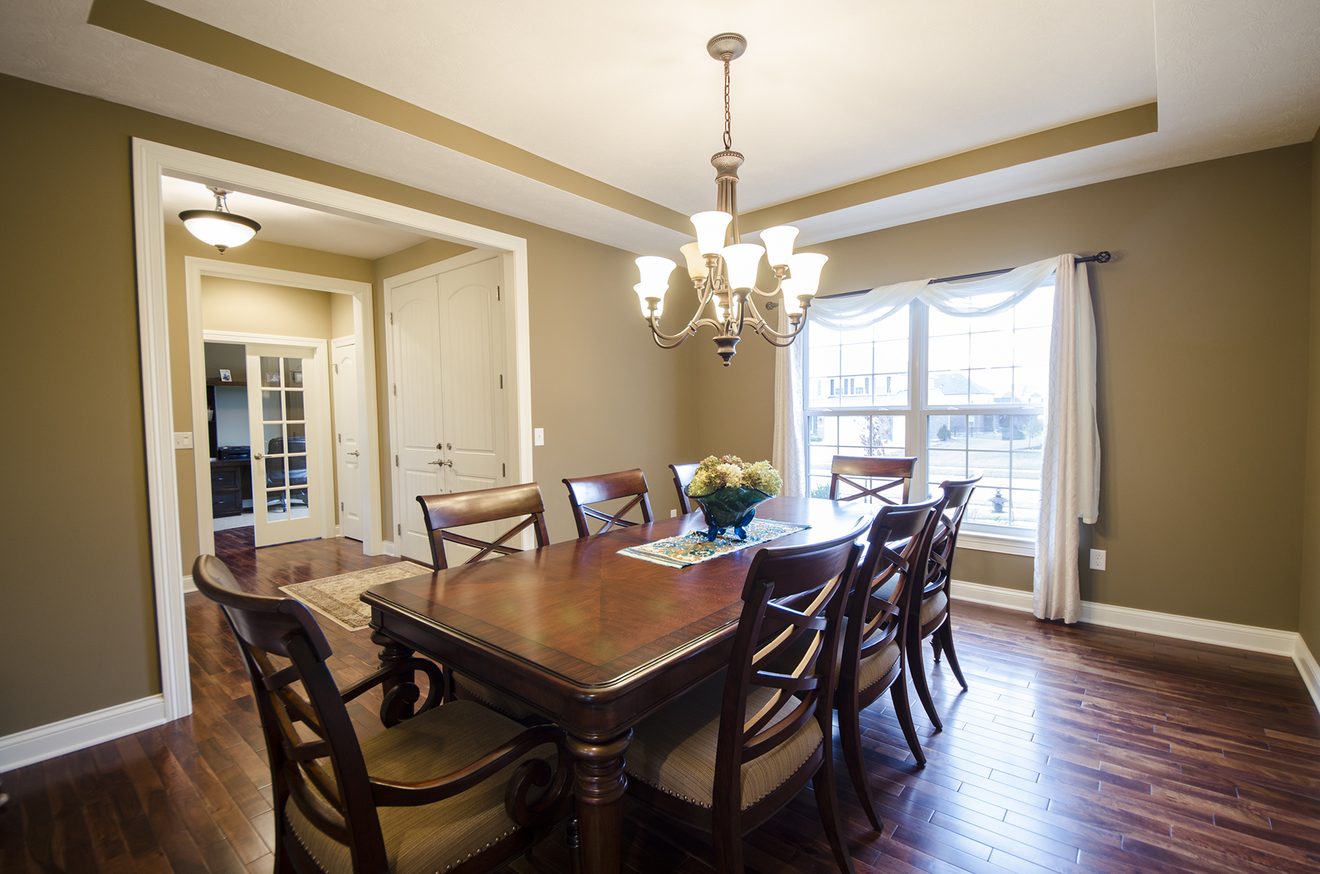 Dining areas design homes for Dining area design
