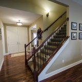 Custom entry in Yearling Farms. Built by Design Homes and Development.