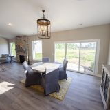 Dining Room of the Bristol in Soraya Farms by Design Homes