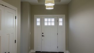 Entry of the Bristol in Soraya Farms by Design Homes
