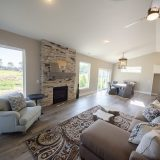 Great Room of the Bristol in Soraya Farms by Design Homes