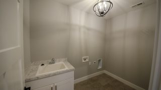 Laundry Room of the Bristol in Soraya Farms by Design Homes