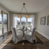 Custom breakfast nook of The Mitchell in Soraya Farms. A custom model home by Design Homes & Development.
