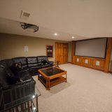 Basement of Hayden residence. Listed by Design Homes & Development.