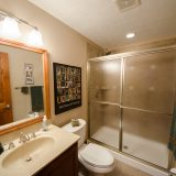 Bathroom of Hayden residence. Listed by Design Homes & Development.