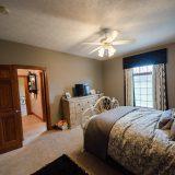 Bedroom of Hayden residence. Listed by Design Homes & Development.