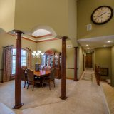 Dining room of Hayden residence. Listed by Design Homes & Development.