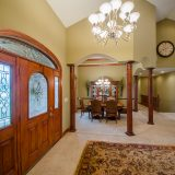 Entry of Hayden residence. Listed by Design Homes & Development.