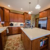 Kitchen of Hayden residence. Listed by Design Homes & Development.