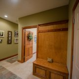 Mud hall of Hayden residence. Listed by Design Homes & Development.