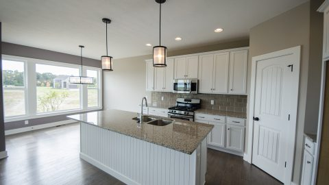 Design Homes and Development custom built kitchen.