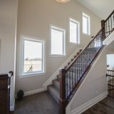 Custom entry of The Mitchell in Soraya Farms. A custom model home by Design Homes & Development.