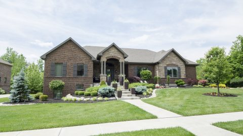 Custom, single family home in Stonebridge. Design Homes and Development.