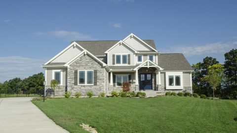 Design Homes and Development custom built exteriors.