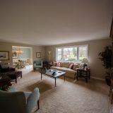 Living room of Hancock residence. Listed by Design Homes & Development.