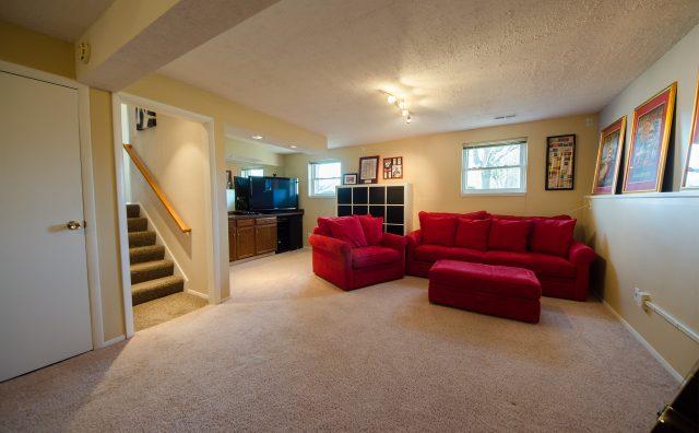 Shirley Ann Drive listing by Design Homes & Development. Basement.