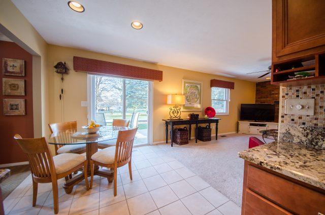 Shirley Ann Drive listing by Design Homes & Development. Breakfast nook.
