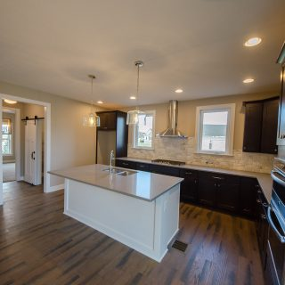 Custom interior of the Amber. A new, market ready home by Design Homes.