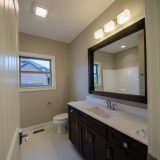 Custom interior of the Logan. A new, market ready home by Design Homes.