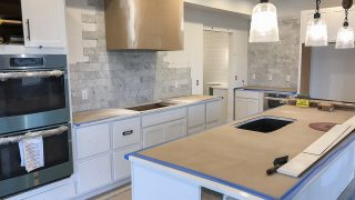 The Kitchen of the Sierra in Cypress Ridge by Design Homes
