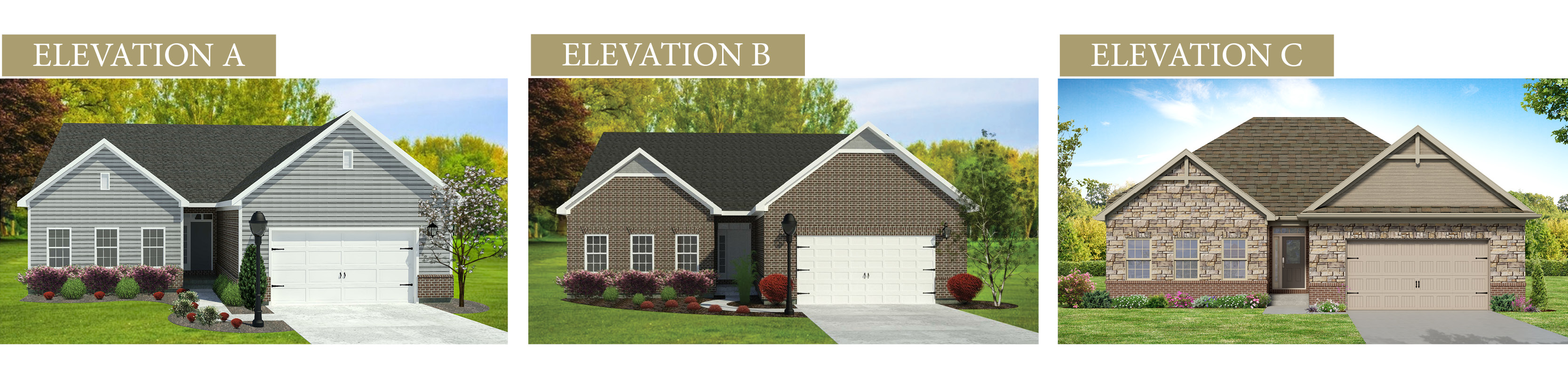 Custom renderings of the Jackson. A standard plan by Design Homes & Development.
