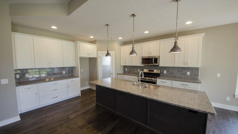 Kitchen of the Jocelyn in Soraya Farms by Design Homes
