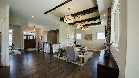 Soraya Farms custom model home built by Design Homes & Development.