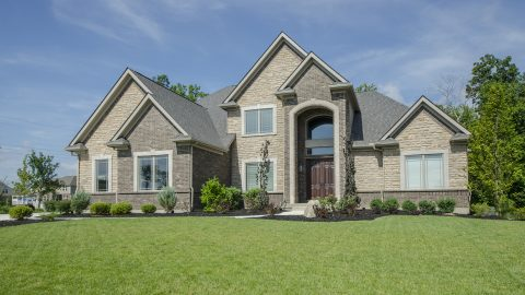 Custom home in Villages of Winding Creek. Built by Design Homes and Development.