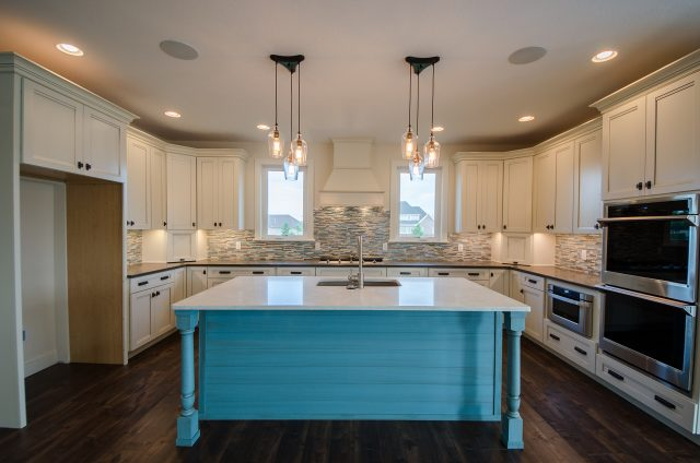 Custom Kitchen in Winding Creek, custom built by Design Homes
