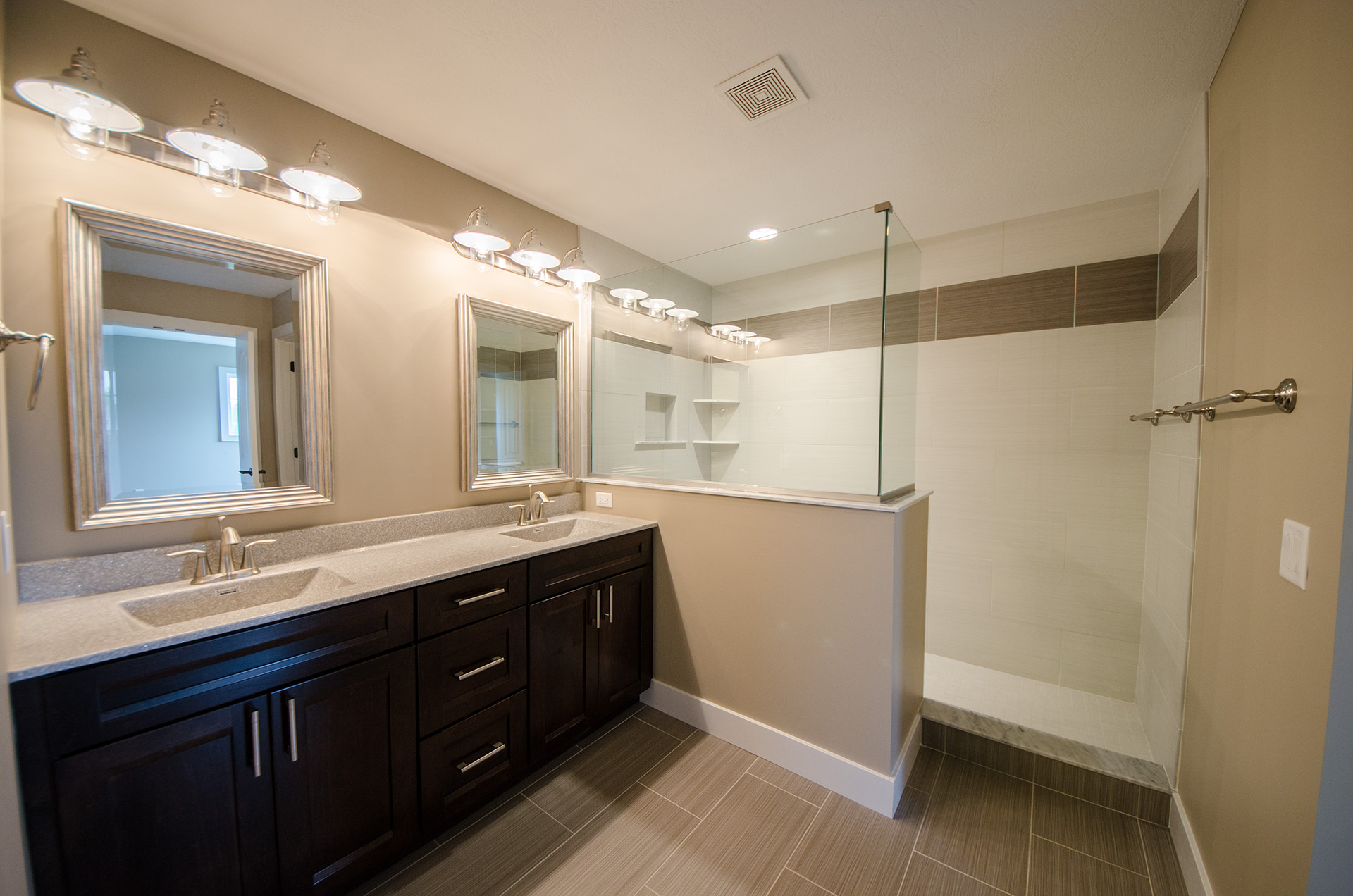 Custom Bathroom By Design Homes And Development. Built By Design Homes U0026  Development.
