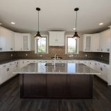 Custom interior of The Triple Crown in Chadwick's Claim. Built by Design Homes and Development.