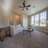 Custom interior of The Abbington. A maintenance free home by Design Homes and Development.
