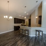 Custom interior of The Abbington. A maintenance free home by Design Homes and Development.
