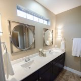Master Bath in the Jocelyn II a custom home built by Design Homes