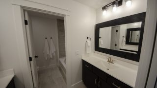 Bath of the Arianna in Saddle Creek by Design Homes