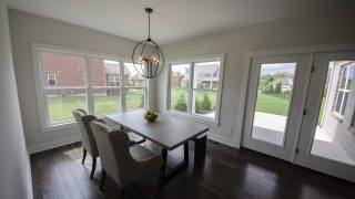Breakfast Nook of the Arianna in Saddle Creek by Design Homes