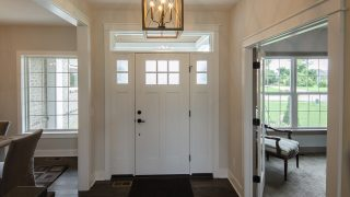 Foyer of the Arianna in Saddle Creek by Design Homes